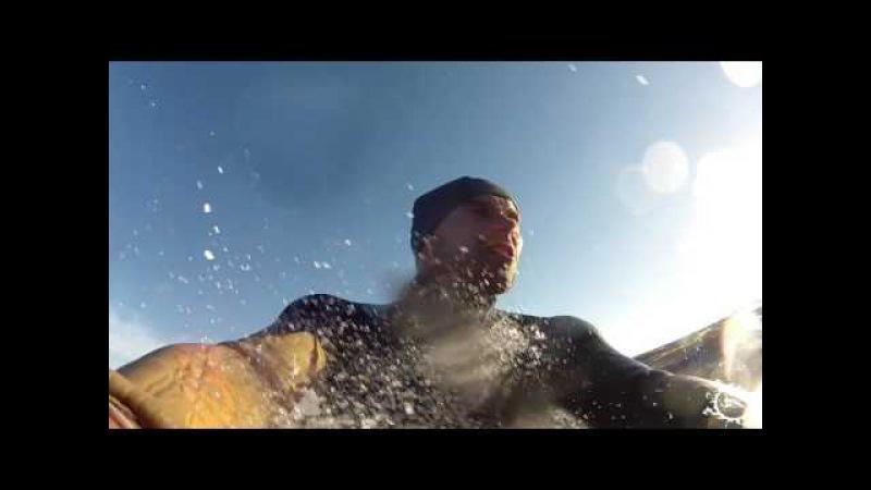 Онежское озеро , летний кайтинг 2016