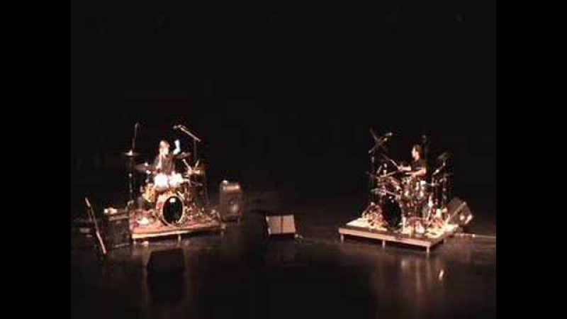 John Toomey drumset duet-Senior Recital