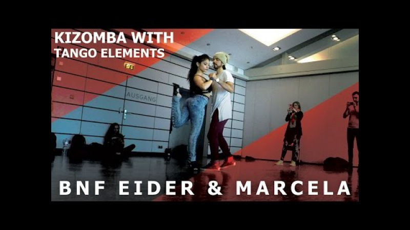 DJ Chad - All The Way Up/ BNF Eider Marcela Kizomba Tango Dance @ Frankfurt Festival 2017