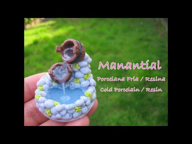 Manantial en Porcelana Fria - Resina / Cold Porcelain - Resin