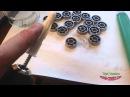 Очистка и смазывание подшипников в роликах