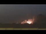В Сети появилось видео ракетного удара по Саудовской Аравии