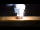 Термитная смесь оксида железа III и алюминия