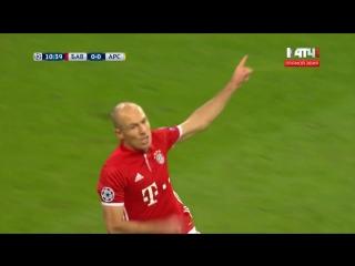 Бавария 1:0 Арсенал | Гол Роббена