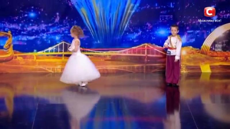 Саша Дырин и Вика Балджы.