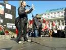 Кофман призывает людей идти окольными путями вместо решительного марша по центральной улице Артёма г. Донецка (2014)