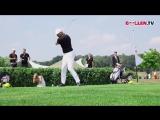Смотрим видео о том, как для нас сегодня прошёл день гольфа!