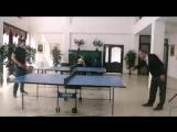 Теннисный поединок