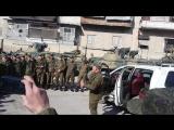 Российский сапёр читает рэп на день инженерных войск. Январь 2017 года, Алеппо, Сирия