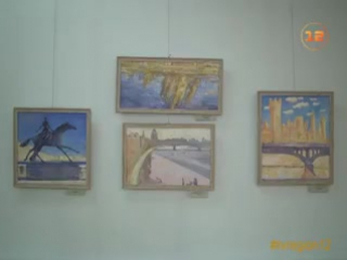Выставка «Йошкар-Ола глазами ВГИК» открылась в Йошкар-Оле видео ТВ «РЕГИОН 12»