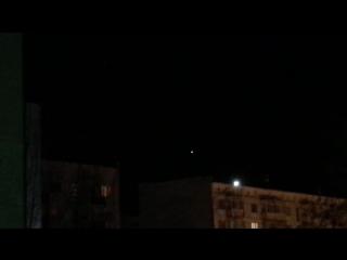 НЛО над Ногликами (Сахалин)