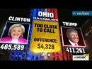 MSNBC - 2016 Election Night (Highlights) Donald Trump vs. Hillary Clinton
