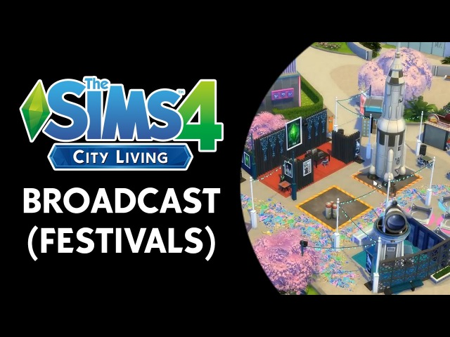 The Sims 4 City Living Broadcast (October 21st, 2016)