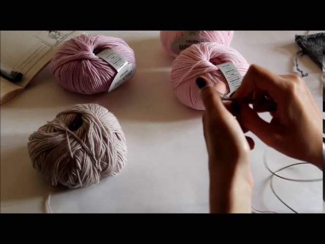 Детский свитер. Реглан снизу. Бесшовное вязание по кругу. Подробное описание