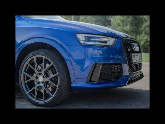 Audi - RS Q3 (обзор тест драйв)