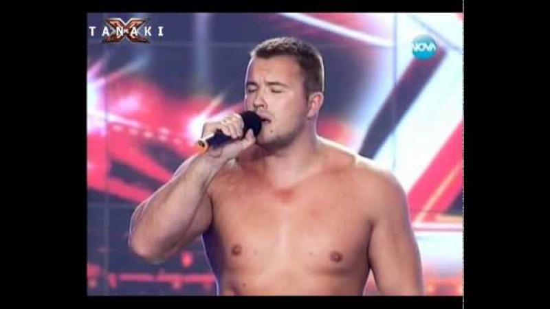 Мария съблече две момчета - X - Factor България 1.09.11