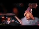 Подготовка и съёмки сцены в машине фильма Грааль
