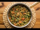 Турецое блюдо из зелени портулак Semizotu yemeği
