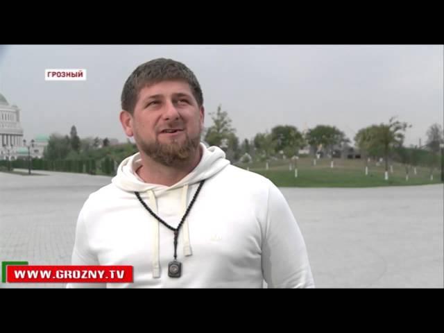 Рамзан Кадыров: Яценюк мог здесь быть, чтобы что-то подать, принести или копейку ...