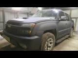 Как выглядит Chevrolet Avalanche в Рапторе (Средняя шагрень)