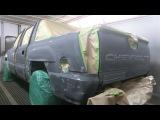 Профессиональная покраска Раптором Chevrolet Avalanche