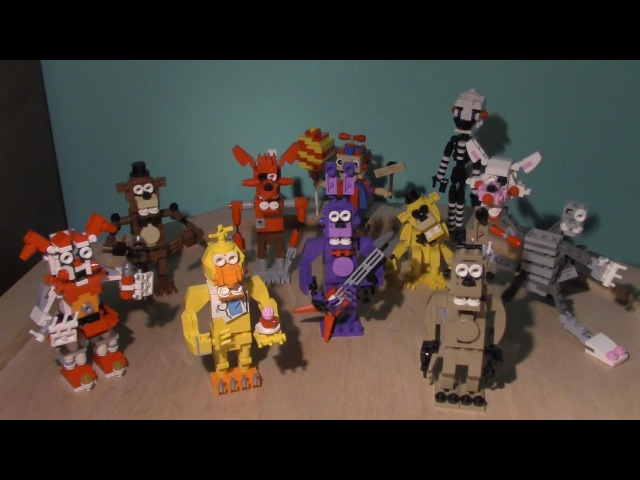Lego Five Nights At Freddy's Characters(Brick 101 Characters)