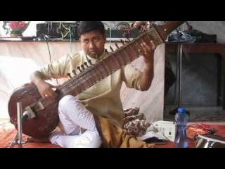 Glimpse of Surbahar Recital: Ramprapanna Bhattacharya - Raag Bageshree - Alap.