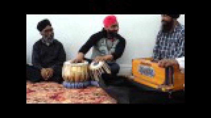 Ustad sukwinder singh ' pinki' with bhai darbara '