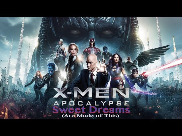 Sweet Dreams (Eurythmics) - Сладкие сны [Rus Sub] (X-Men: Apocalypse)