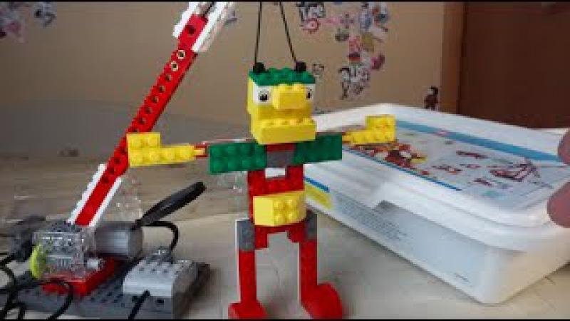 Lego Education Перворобот WeDo 9580 ресурсный набор WeDo 9585