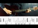 10 Крутых Рифов на Акустической гитаре | табулатура