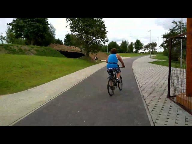 Новый мост и велодорожка с Серебрянки до Камвольного комбината!