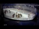 Драка юниоров Кристалл и Драгуны на матче по хоккею в Электростали 05.03.2017 реальн ...
