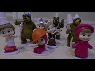 Открываем Свит Бокс (Sweet Box) Маша и Медведь полная коллекция