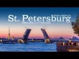 White nights in Saint Petersburg. Timelapse &amp Hyperlapse. Белые ночи в Санкт-Петербурге