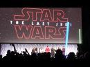 FAN REACTION: The Last Jedi trailer debuts at Star Wars Celebration 2017 in Orlando