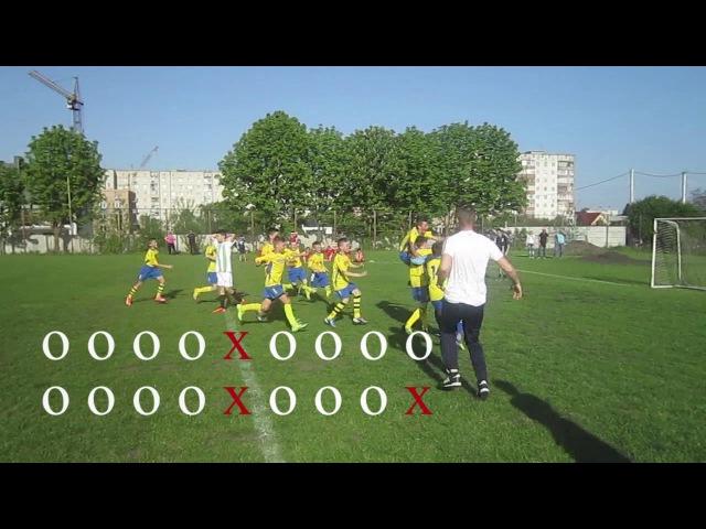 Обласні змагання на призи клубу Шкіряний мяч U13