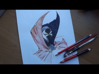 Спаун! Speed drawing - Spawn (Dark Horse Comics)