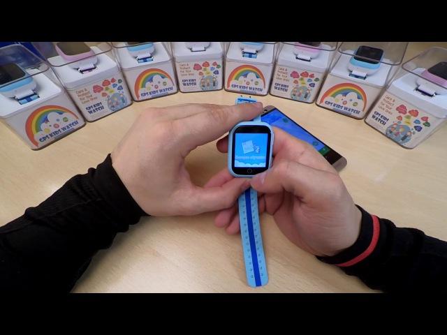Видео обзор инструкция детских часов с GPS Q750