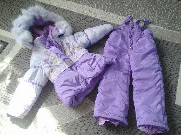 Продам зимний комбинезон для девочки 2-3 года. В очень хорошем состоян