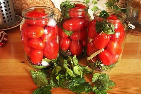 Все из помидоров на зиму