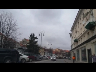 Старый город. Вильнюс. Приключение таксиста