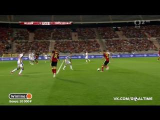 Бельгия - Чехия 2:1. Обзор товарищеского матча.