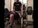 Денис Корнелиус - жим лежа 225 кг на 4 повтора
