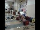 Александр Клюшев - тяга 370 кг