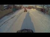 Первый снег на квадроциклах :)