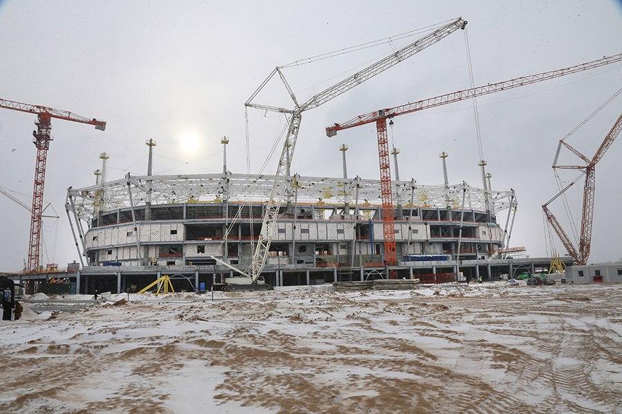 Estadio Kaliningrad Stadium Kaliningrado Rusia Russia Kaliningrad Stadium Arena Baltika Калининградский стадион Арена Балтика