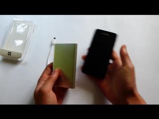 Обзор внешнего аккумулятора Xiaomi Power Bank 12000 mAh