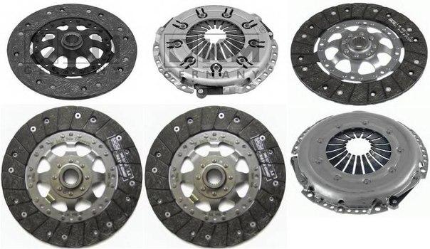 Диск сцепления для AUDI A4 кабрио (8H7, B6, 8HE, B7)