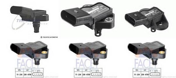 Датчик давления воздуха, высотный корректор; Датчик, давление во впускном газопроводе для AUDI A5 кабрио (8F7)